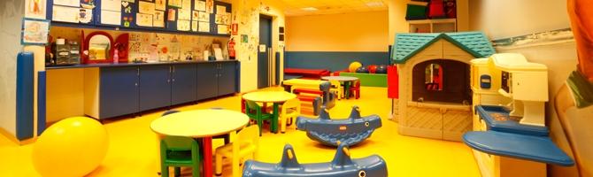 Actividades infantiles en el gimnasio virgin active barcelona for Gimnasio heron city