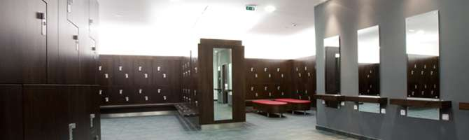Vestuarios del gimnasio de zaragoza virgin active for Gimnasio zaragoza
