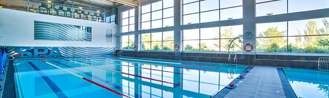 Piscina las rozas gimnasio virgin active heron city for Gimnasio con piscina